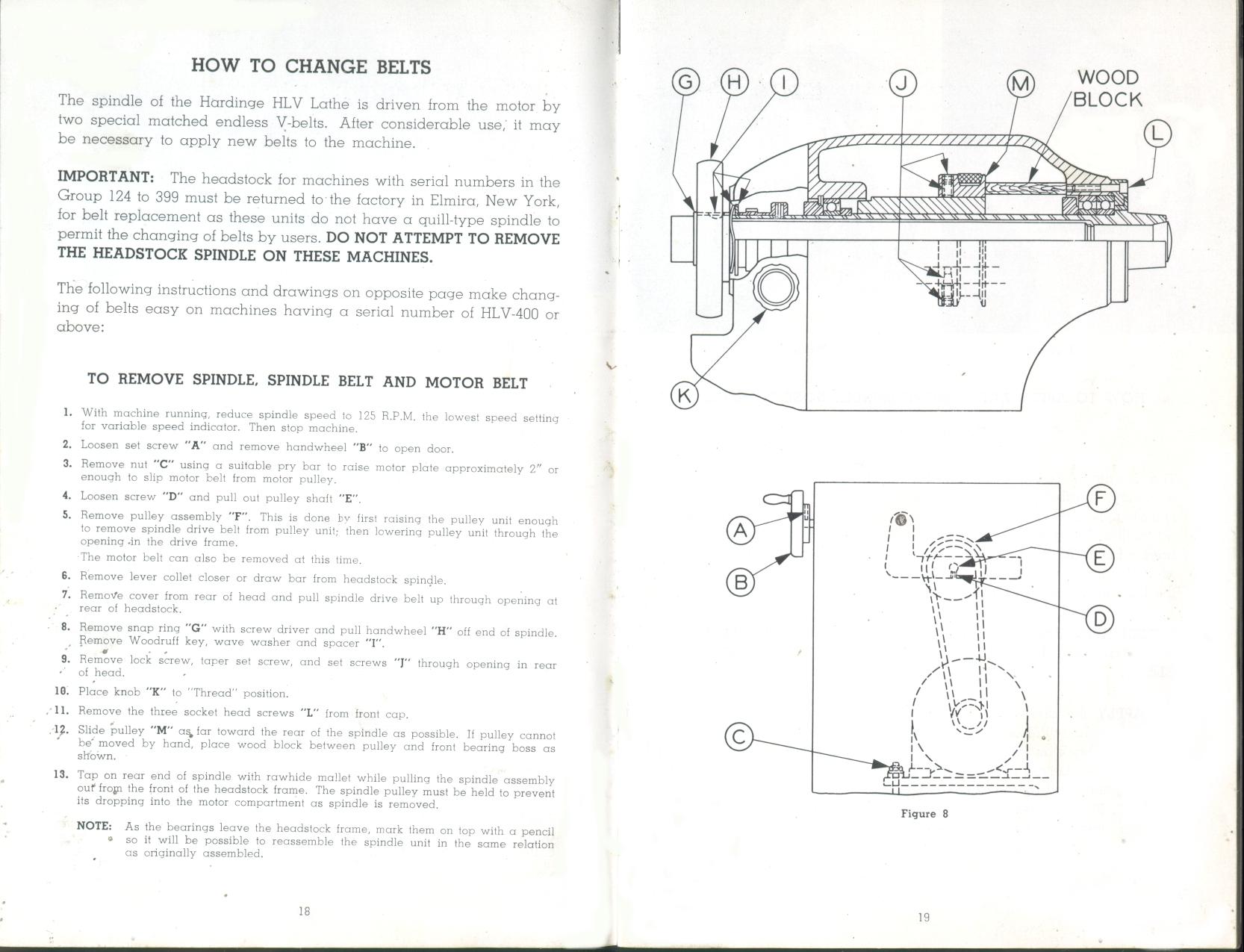 Hardinge HLV User's Manual on