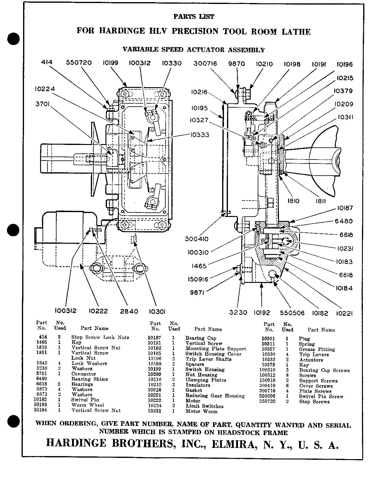 hardinge lathe wiring diagrams   30 wiring diagram images